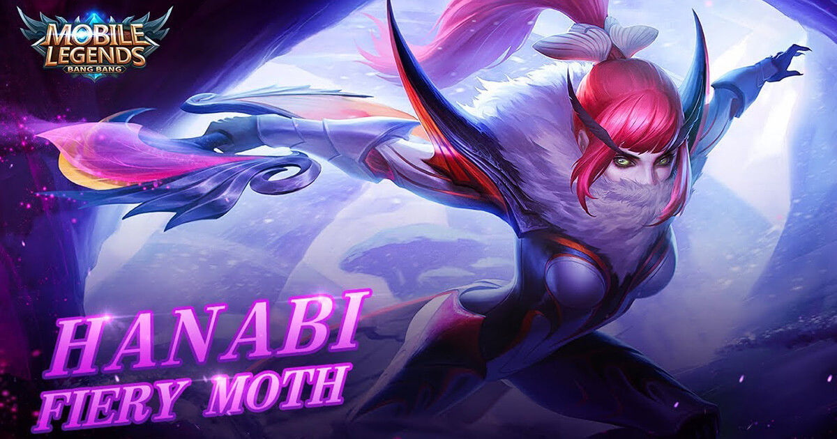 Hanabi Hỏa Hồ Điệp sắp có mặt trong Mobile Legends: Bang Bang