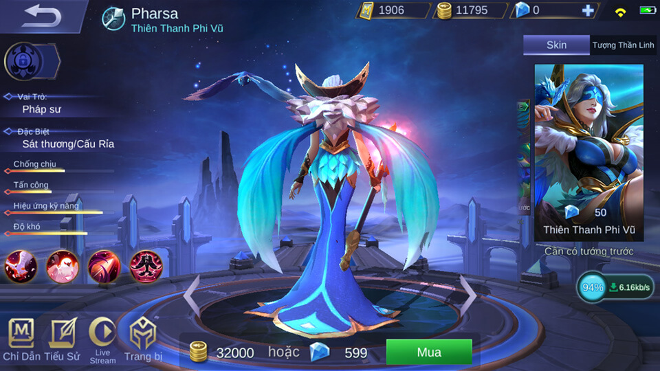 Pharsa Thiên Thanh Phi Vũ 3