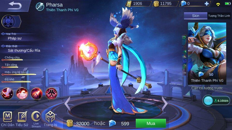 Pharsa Thiên Thanh Phi Vũ 2