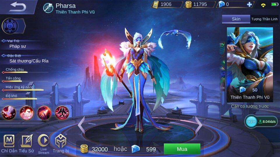 Pharsa Thiên Thanh Phi Vũ 1