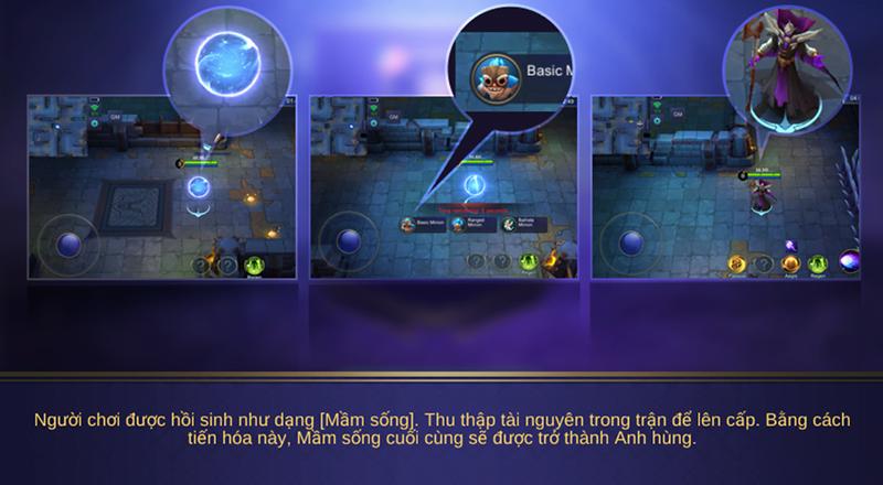 Quy tắc chơi chế độ Tiến Hóa game Mobile Legends: Bang Bang