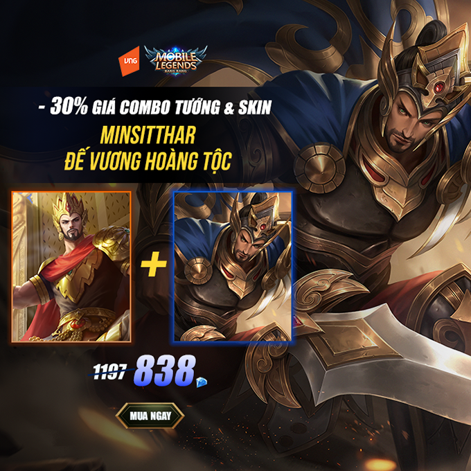 Giá bán Minsitthar Đế Vương Hoàng Tộc