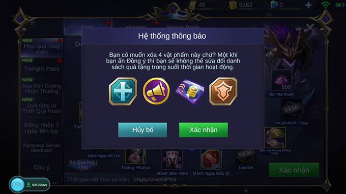 Hướng dẫn tham gia Hộp Quà May Mắn game Mobile Legends: Bang Bang - Hình ảnh 2