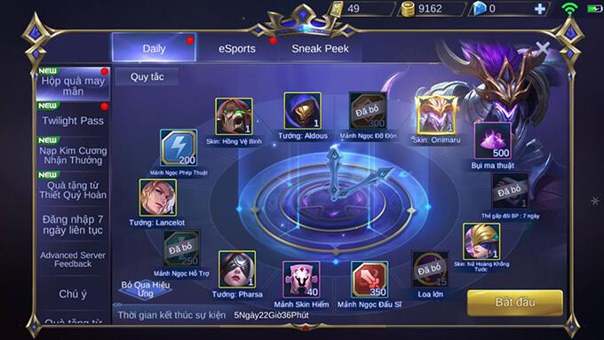 Hướng dẫn tham gia Hộp Quà May Mắn game Mobile Legends: Bang Bang - Hình ảnh 3