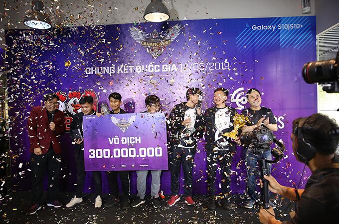 Overclockers vô địch 360mobi Championship Series Mùa 2
