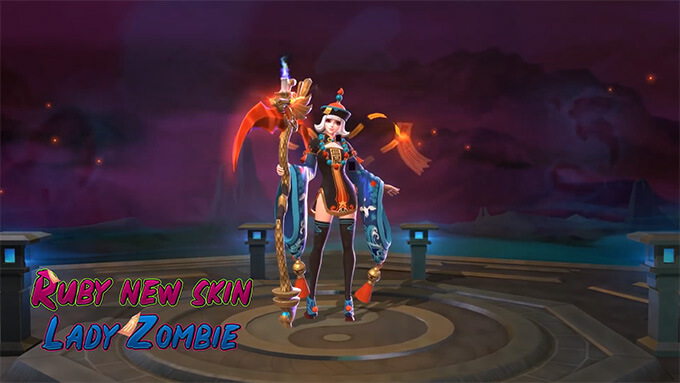 Ruby Cô Nàng Cương Thi game Mobile Legends: Bang Bang - Hình ảnh 1