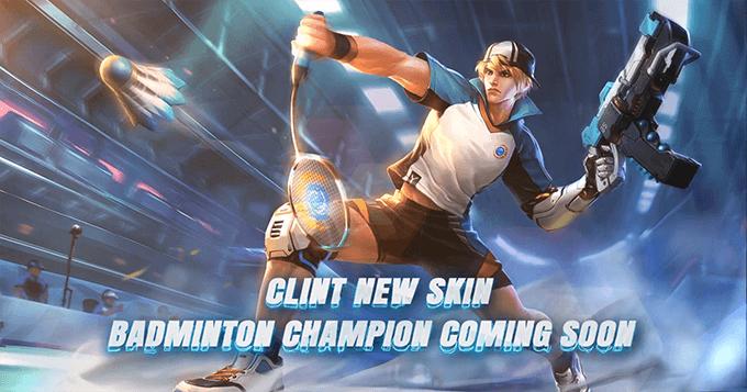 MLBB hé lộ skin mới Clint Quán Quân Cầu Lông - Ảnh 2