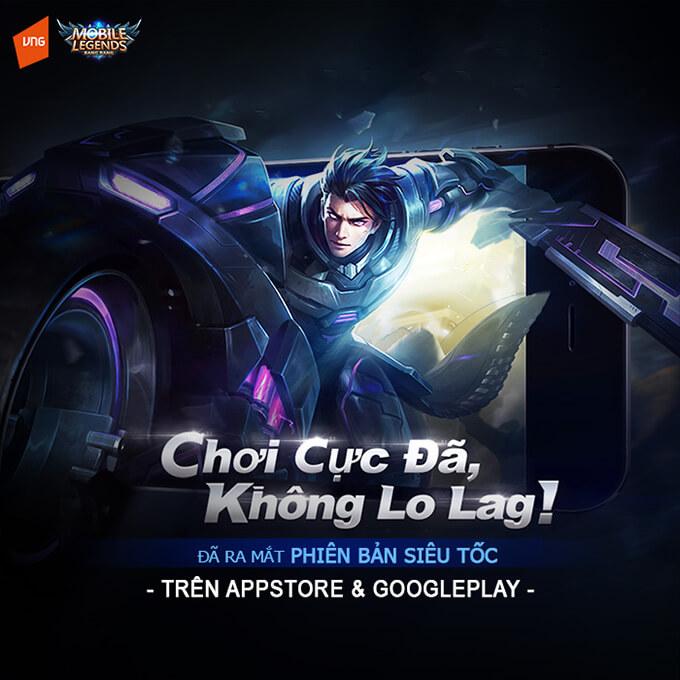 Mobile Legends: Bang Bang ra mắt phiên bản Siêu Tốc - Hình ảnh 1