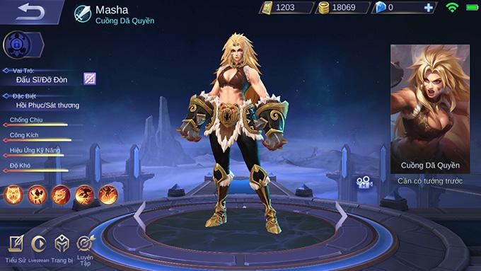 Masha - Cuồng Dã Quyền
