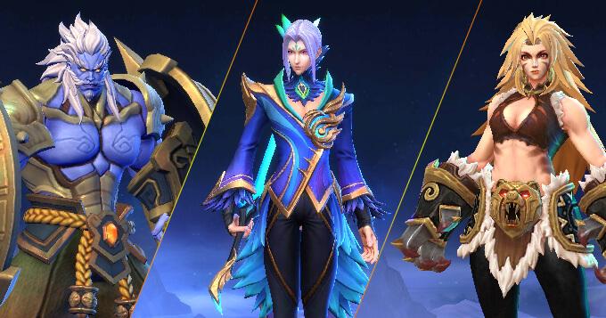 Soi tướng mới Ling, Biki và Masha trong máy chủ thử nghiệm - Ảnh 1