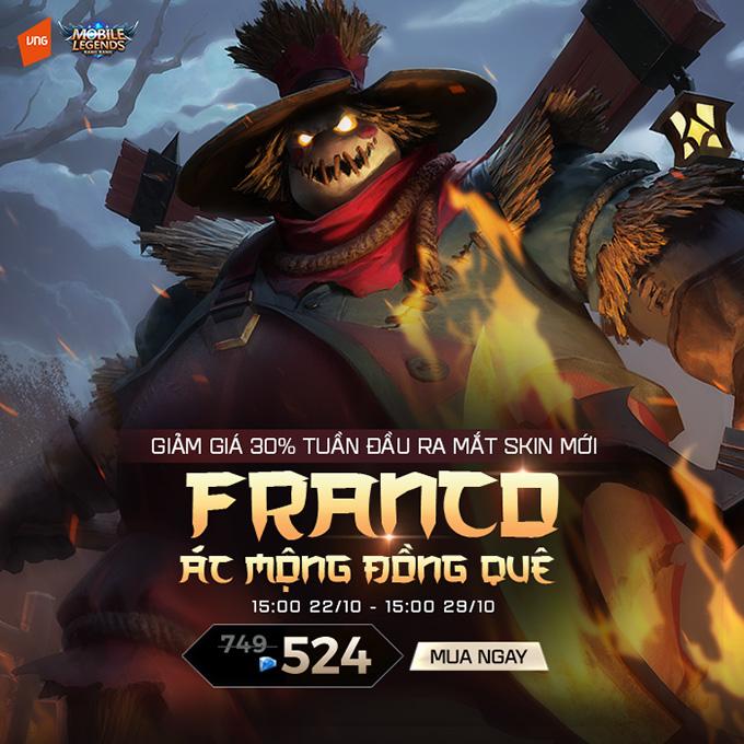 Franco Ác Mộng Đồng Quê ra mắt vào 15:00 ngày 21/10/2019