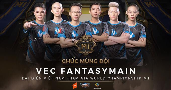 VEC Fantasy Main tham dự giải vô địch MLBB thế giới - Ảnh 1