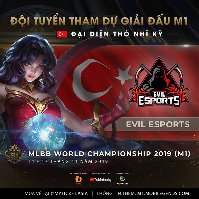 Evil eSports vô địch vòng loại M1 Thổ Nhĩ Kỳ