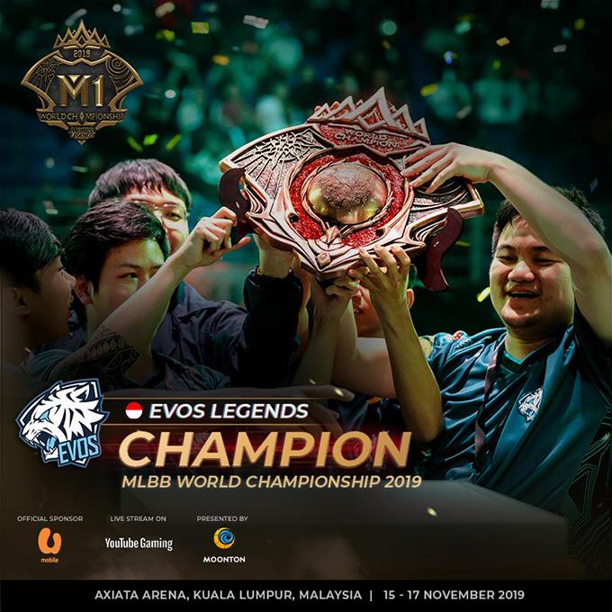EVOS Legends vô địch M1