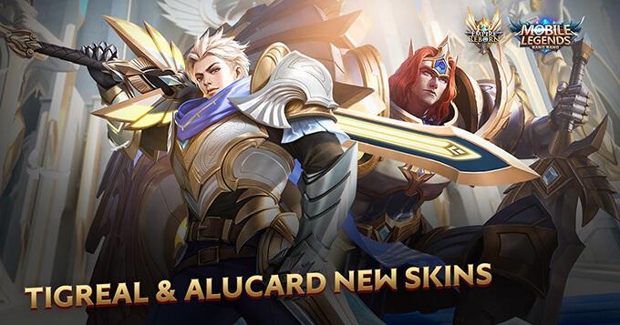 Kỵ Sĩ Thánh Thể là skin mới của Tigreal và Alucard - Ảnh 1