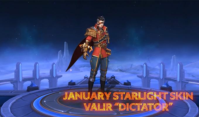 Hiệu ứng kĩ năng của skin Dictator Valir