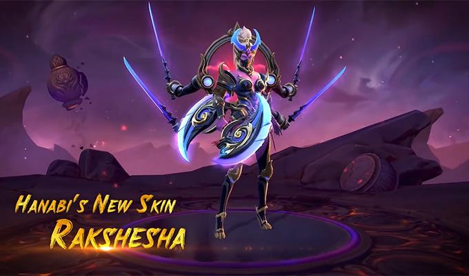 Hanabi sắp có skin mới Rakshesha Tu La Hoa - Hình ảnh 1