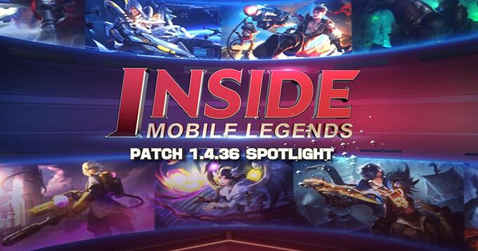 Inside Mobile Legends: Phiên bản 1.4.36 - Ảnh 2