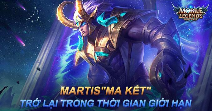 Martis Ma Kết quay trở lại Vòng Quay Hoàng Đạo