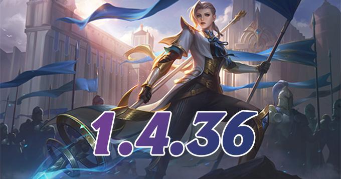 Chi tiết bản cập nhật 1.4.36 Mobile Legends: Bang Bang