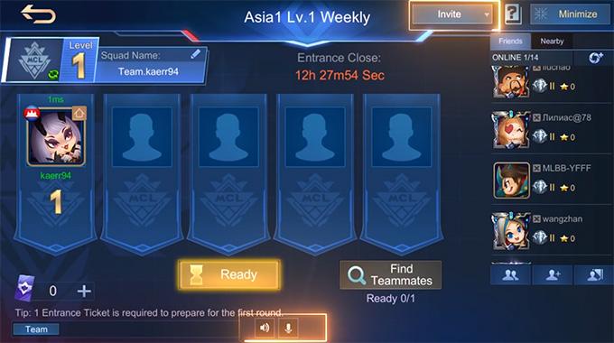 Thêm tính năng chat tiếng và tự động mời để giúp người chơi dễ dàng hơn trong việc lập đội và giao tiếp với các thành viên trong đội hoặc bạn bè