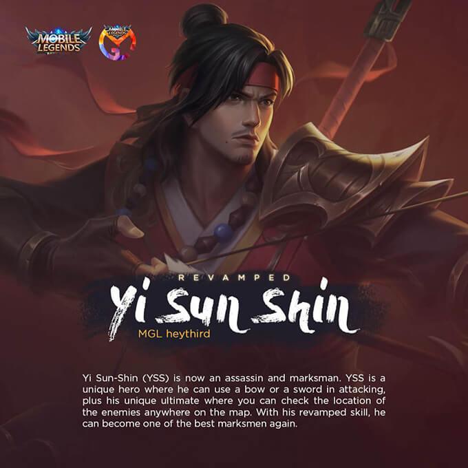 Hướng dẫn chơi Yi Sun Shin phiên bản mới