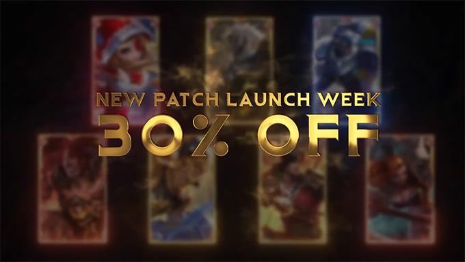 Các tướng vừa được đề cập sẽ được giảm 30% giá bán trong cửa hàng trong tuần đầu ra mắt bản cập nhật mới