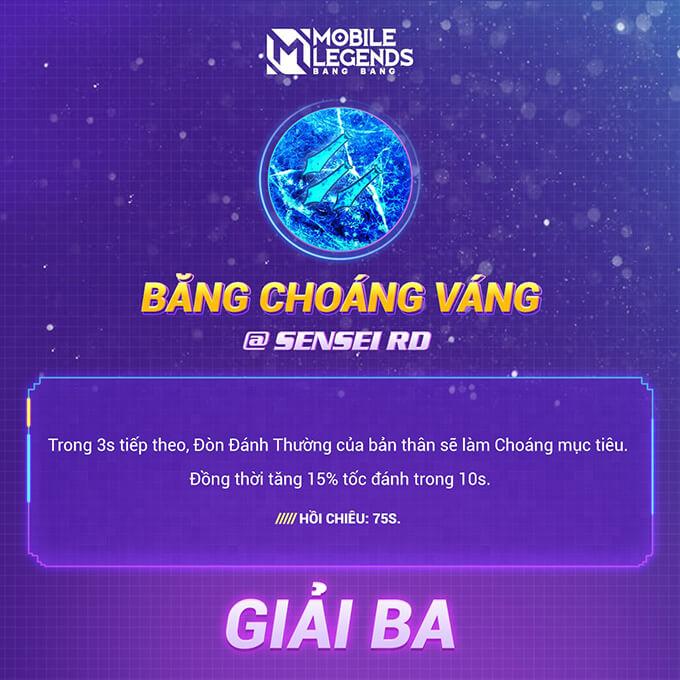 Giải ba: Băng Choáng Váng