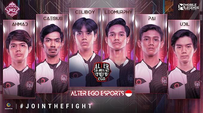 Đội hình thi đấu của Alter Ego Esports (Indonesia)