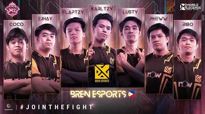 Đội hình thi đấu của Bren Esports (Philippines)