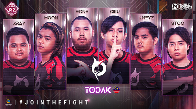 Đội hình thi đấu của Todak (Malaysia)