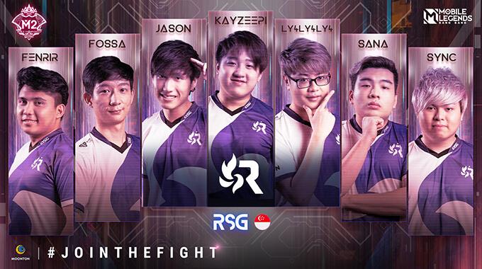 Đội hình thi đấu của RSG (Singapore)