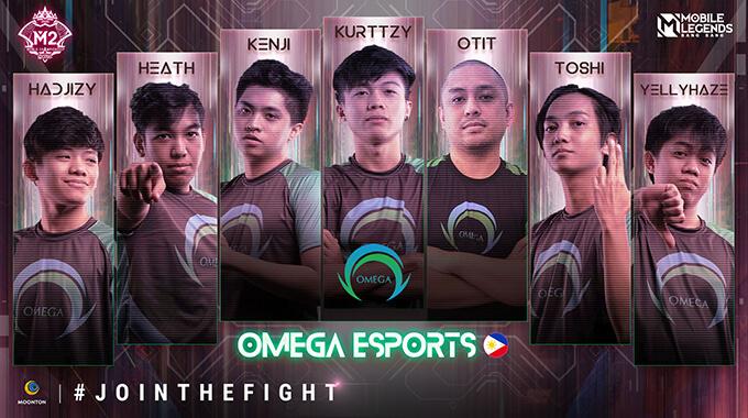 Đội hình thi đấu của Omega Esports (Philippines)