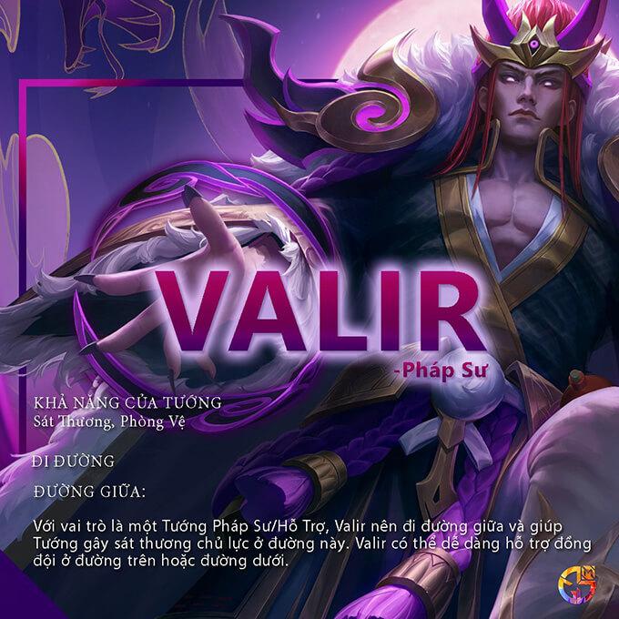 Hướng dẫn chơi Valir từ MGL