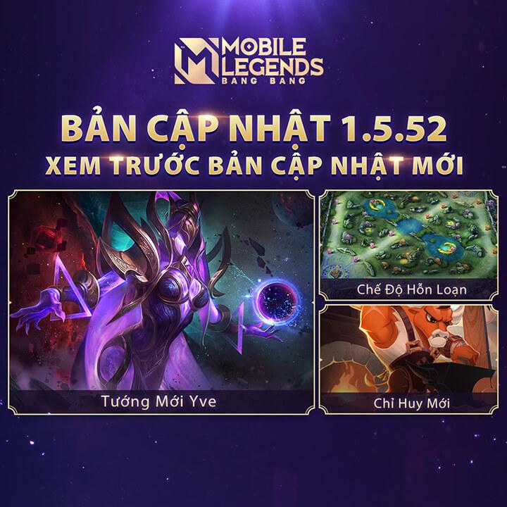 Xem trước Mobile Legends: Bang Bang phiên bản phiên bản 1.5.52 - Hình ảnh 1