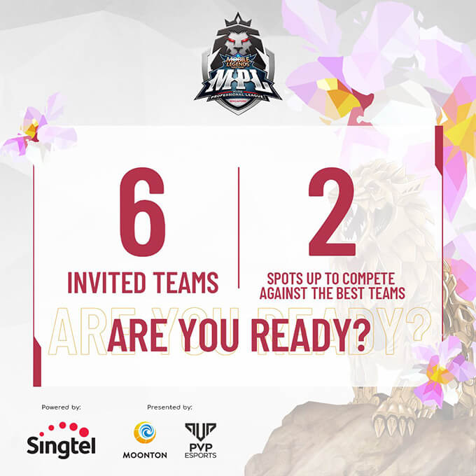 Vòng bảng MPL SG Season 1 sẽ có 8 đội tuyển tham dự