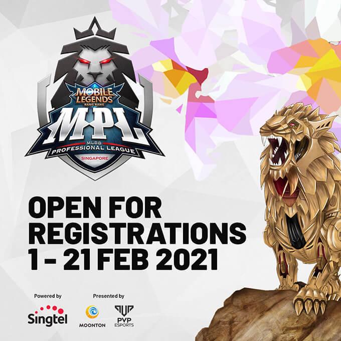 MPL SG Season 1 mở đăng ký đến 21/02/2021