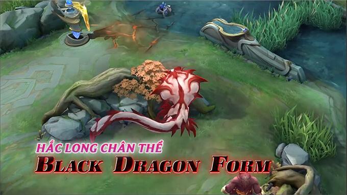 Yu Zhong Huyết Xà Ma Vương - Hắc Long Chân Thể
