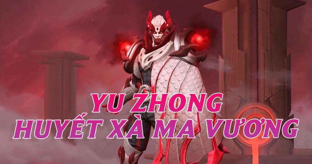 Trang phục mới Yu Zhong Huyết Xà Ma Vương sắp ra mắt