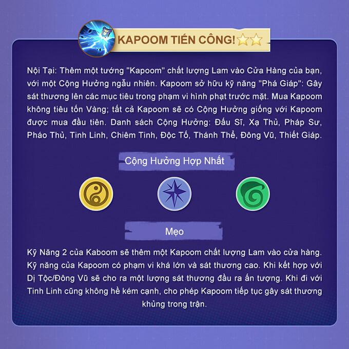 Kĩ năng 2 sao - Kapoom Tiến Công