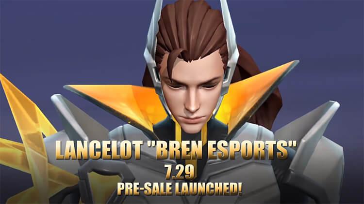 Trang phục mới Lancelot Bren Esports ra mắt vào ngày 29/07/2021.