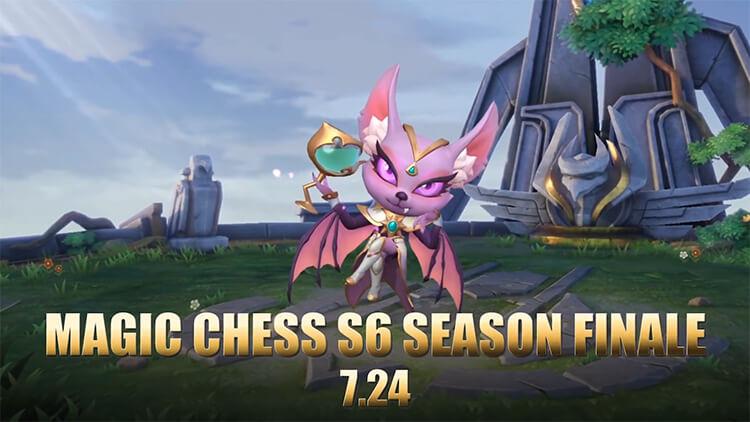 Magic Chess Mùa 6 ra mắt vào ngày 24/07/2021.