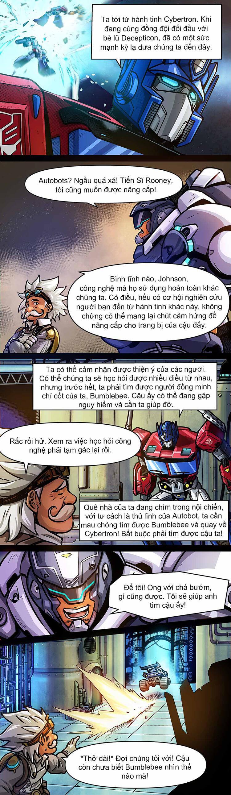 Comic MLBB: Lãng khách đến từ Cybertron - Trang 08