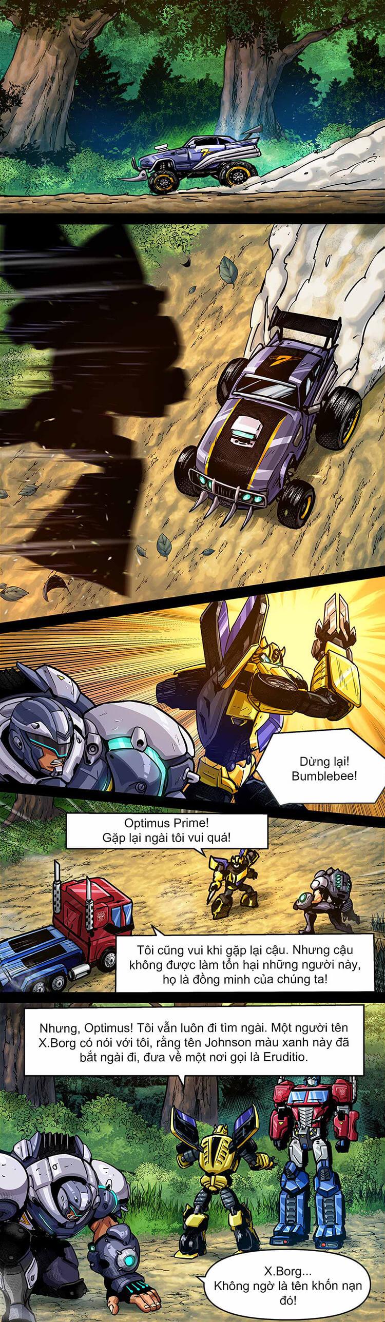 Comic MLBB: Lãng khách đến từ Cybertron - Trang 09
