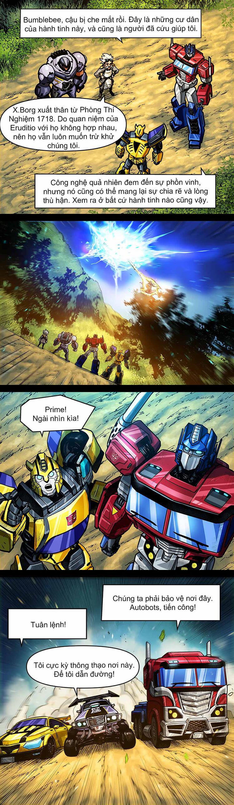 Comic MLBB: Lãng khách đến từ Cybertron - Trang 10