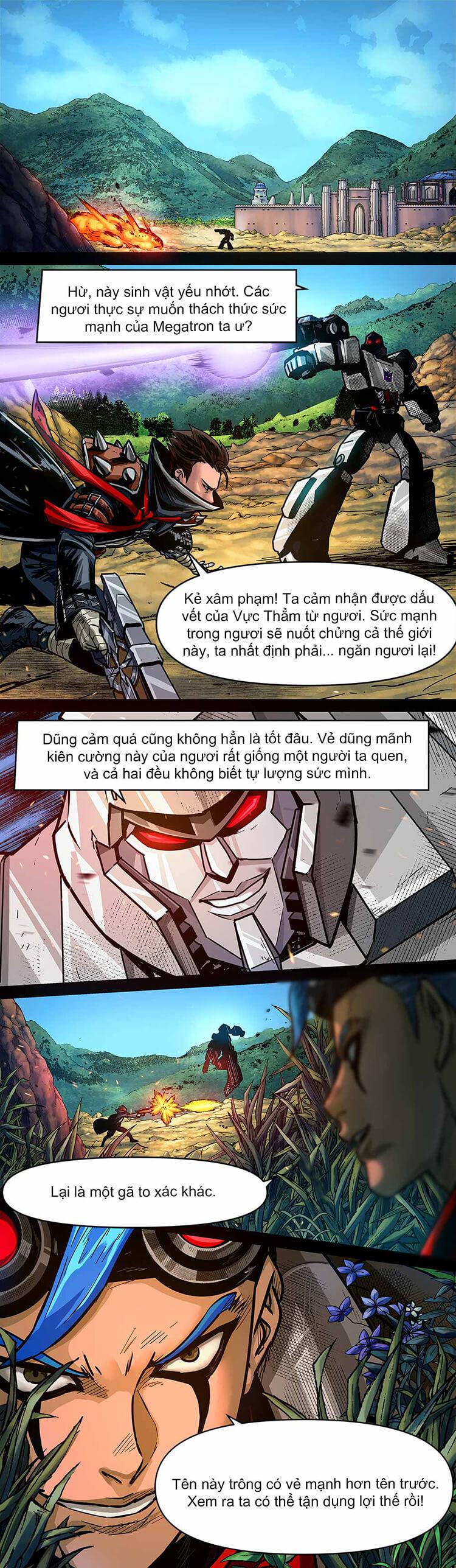 Comic MLBB: Lãng khách đến từ Cybertron - Trang 11