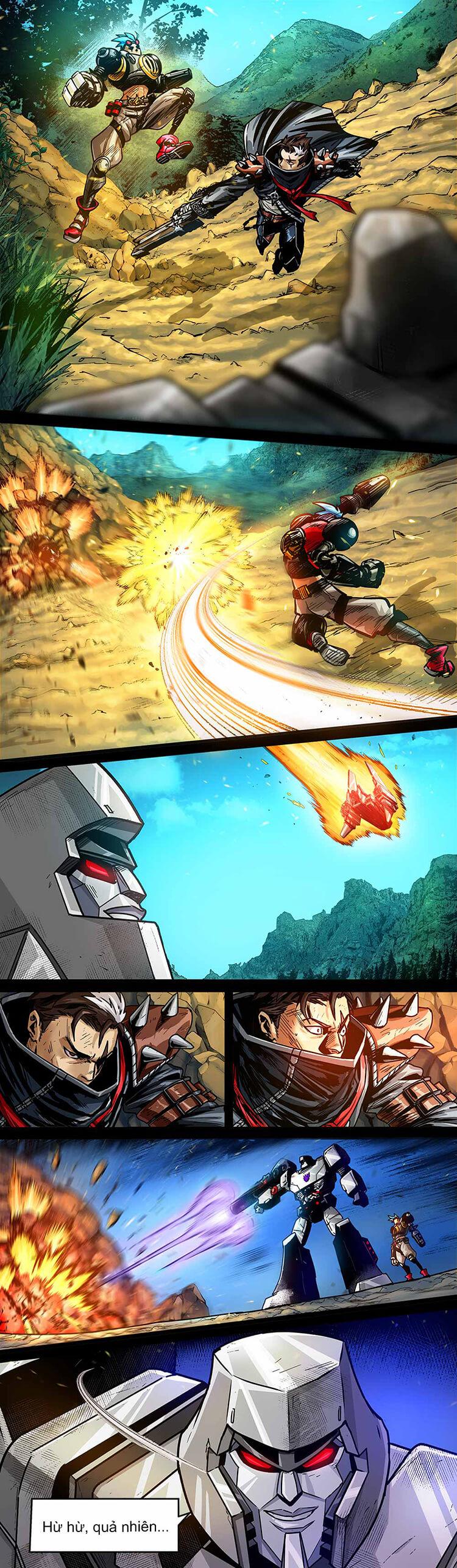 Comic MLBB: Lãng khách đến từ Cybertron - Trang 12