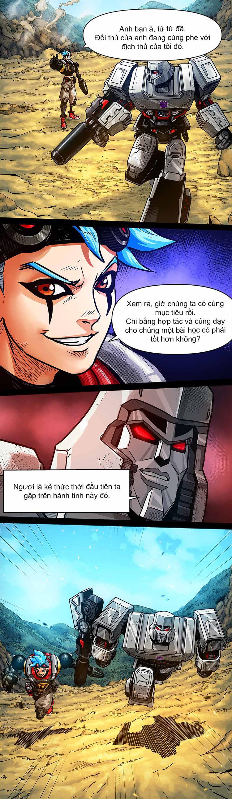 Comic MLBB: Lãng khách đến từ Cybertron - Trang 13